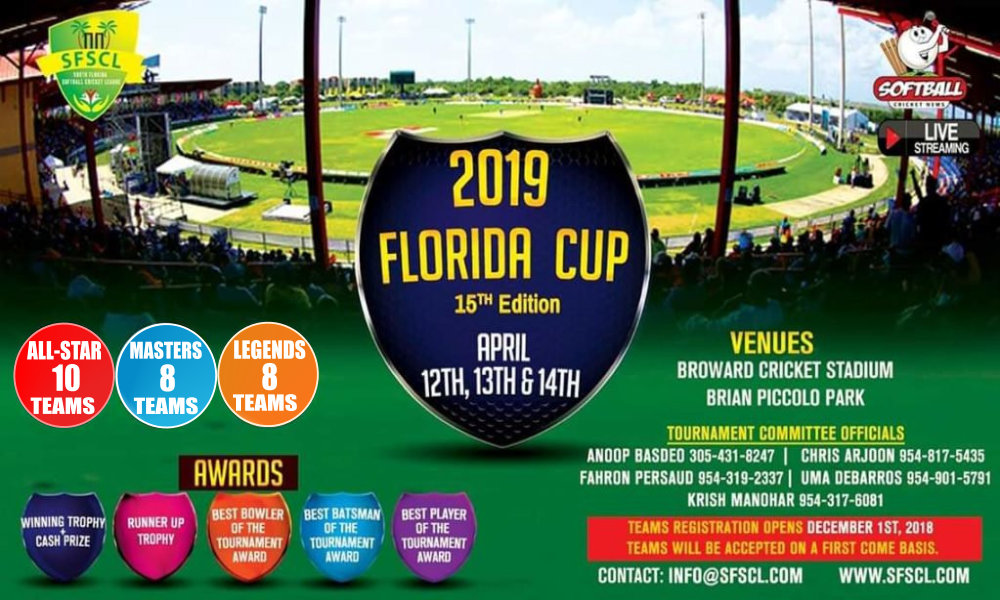 Florida Cup 2019- Registration is Now Closed..